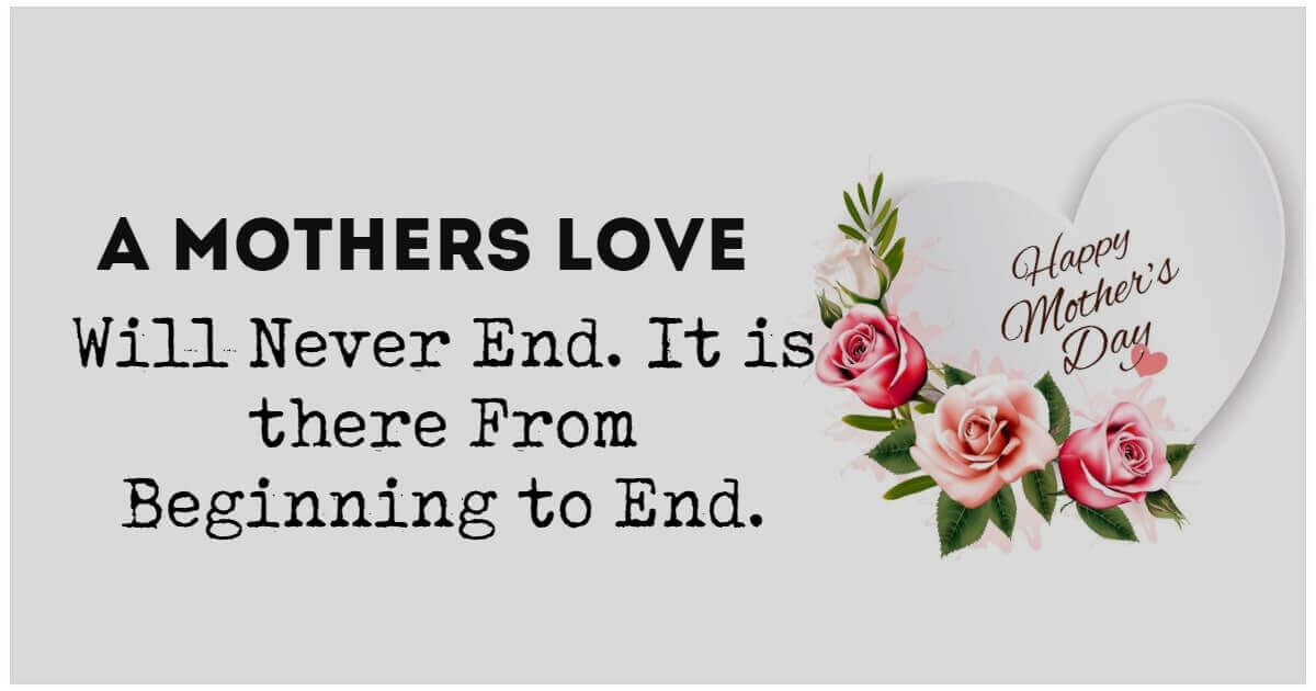 Beautiful Quotes on Mothers Day