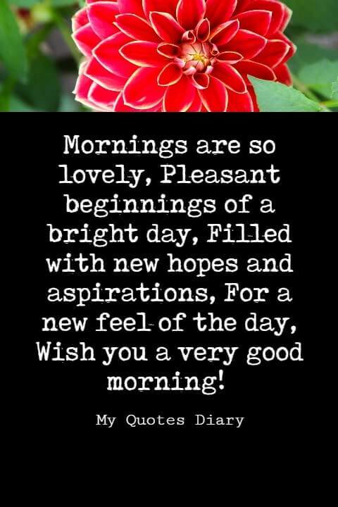 good morning sweet messages