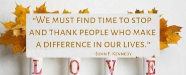 thanksgiving quotes we must find time to stop and thank