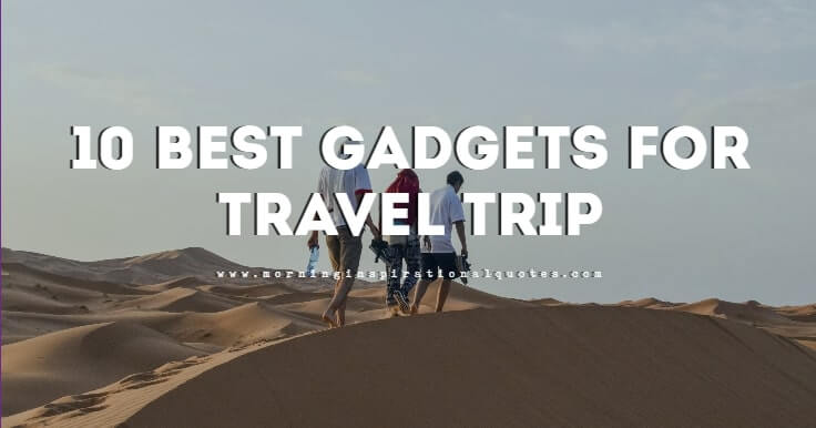 best gadgets for travelling