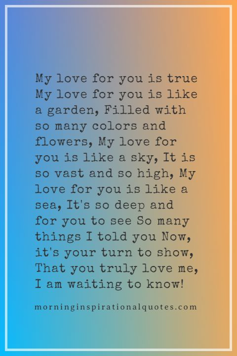 Funny Love Poems