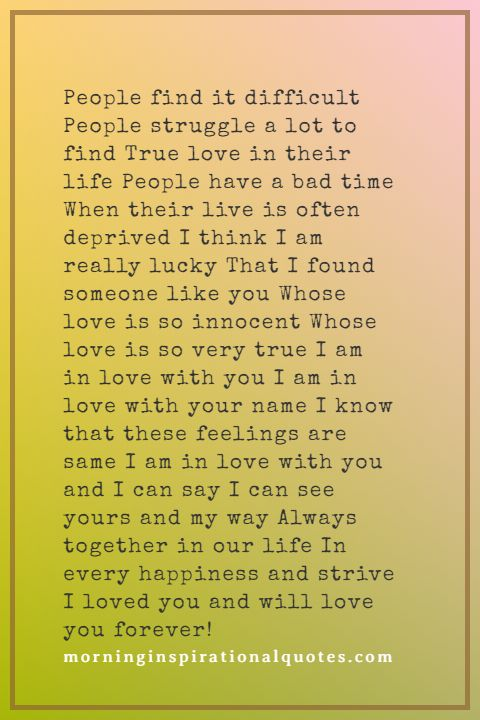 True Love Poems Images