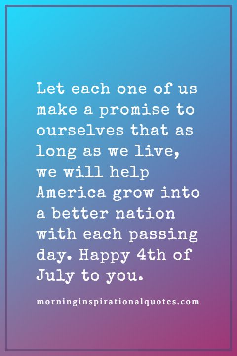 4th of july messages