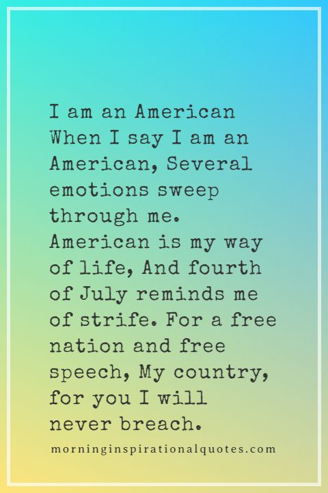4th of july poems