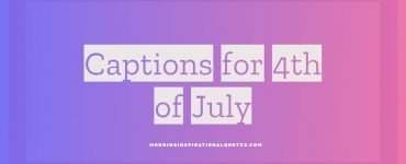 captions for 4th of july