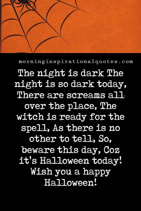 Poems On Halloween Day