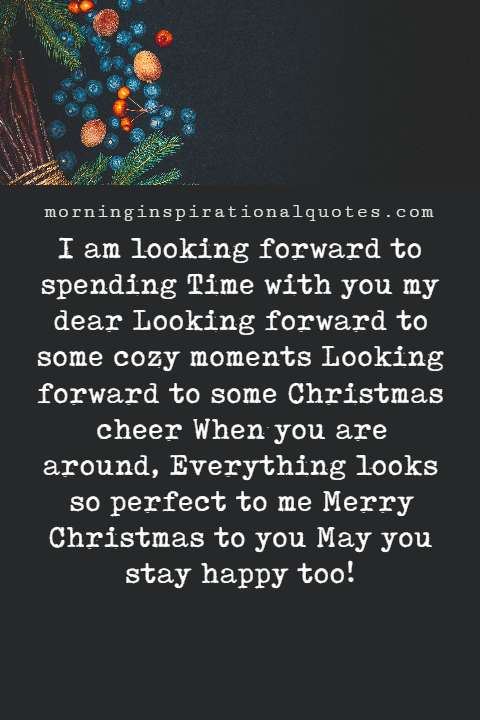 christmas messages for boyfriend