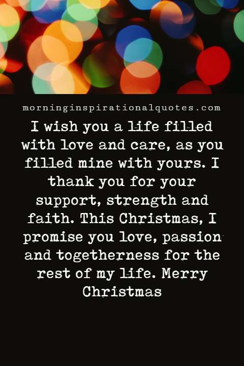 christmas love messages