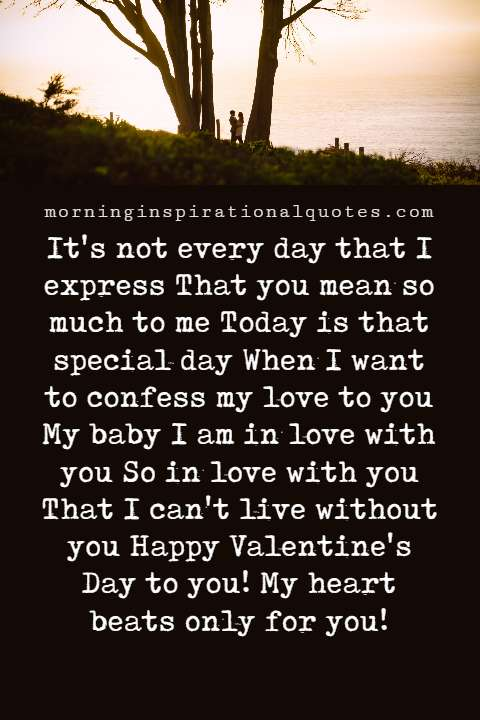 Romantic Valentine's Day Love Messages
