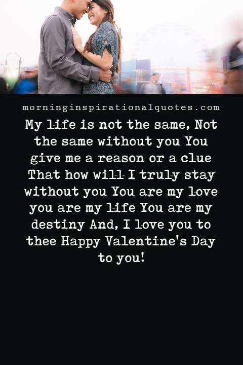 Valentine Poems for Her