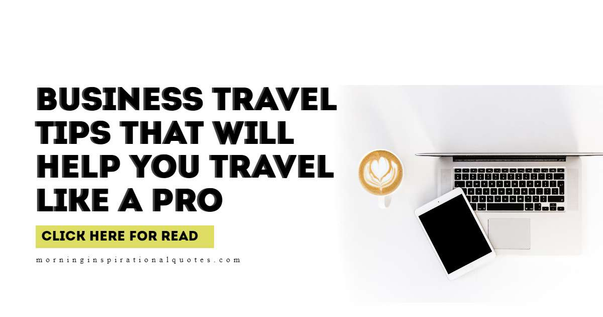 tips for business travel