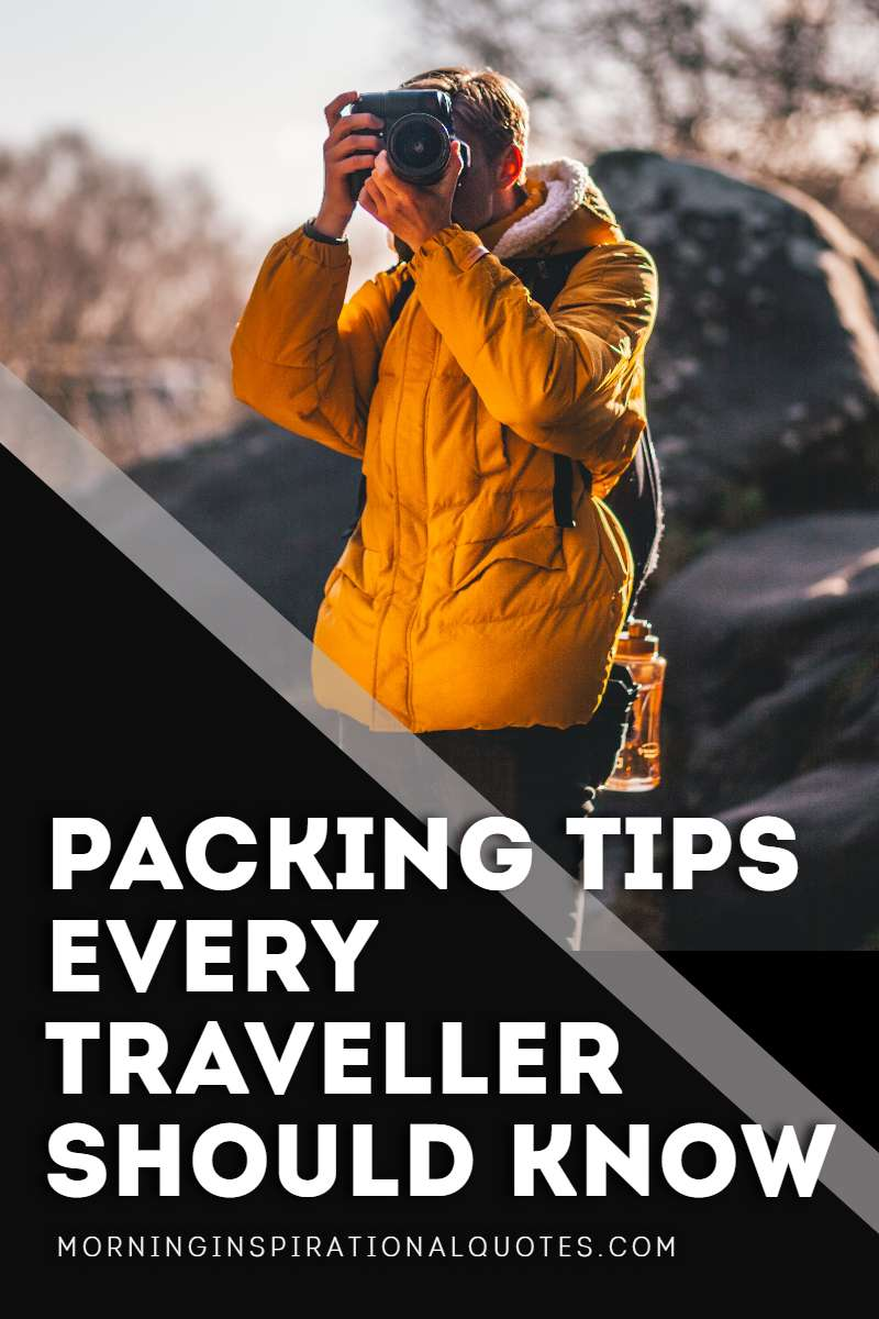 Tips On Packing For Travel