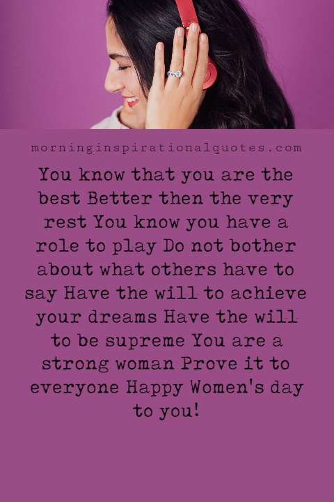 Women's Day Messages, Happy Women's Day Messages