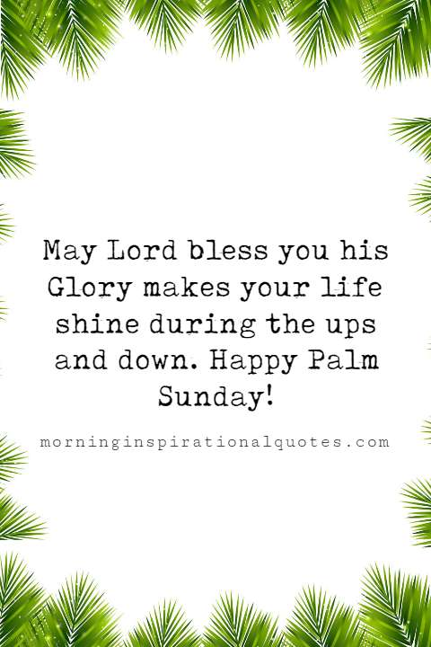 palm sunday blessings quotes images