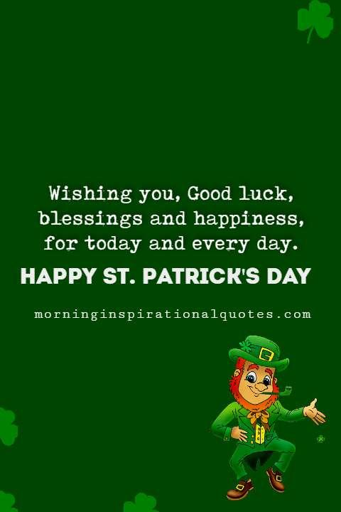 happy st patrick's day messages, st patrick's messages