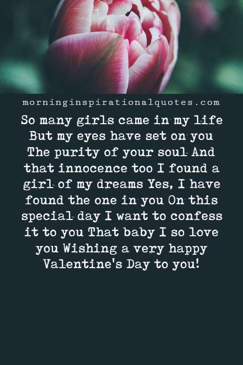 Valentines day messages for girlfriend