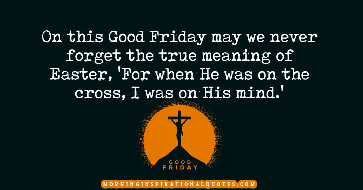 good friday quotes and images