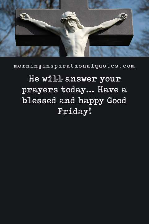 blessings for good friday and good friday blessings