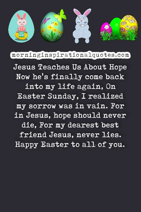 poems on easter, easter poems