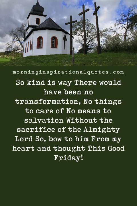 good friday poems