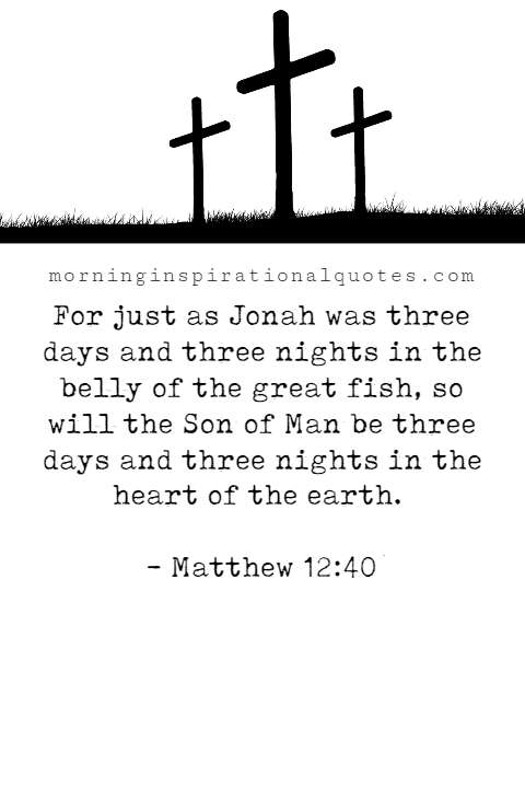 good friday bible verses