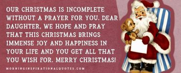 christmas wishes for daughter