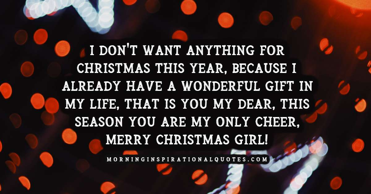 merry christmas wishes for her