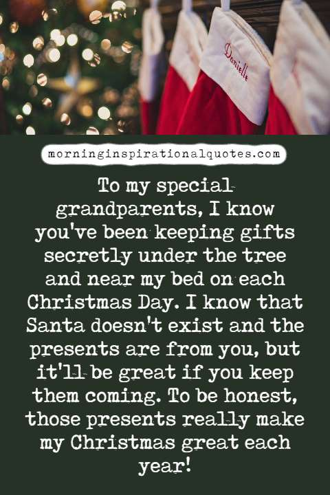 christmas wishes for grandparents
